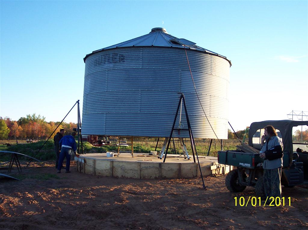 Grain Bin assembly 2